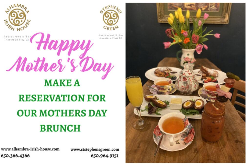 Celebrate Mom with your favourite Irish Pub!